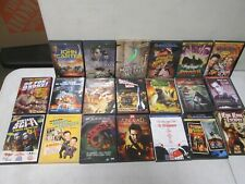 20 Assorted Sci-Fi and Action Dvds with Rodan, Godzilla, King Kong