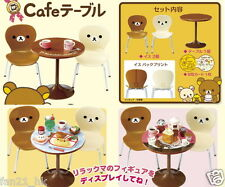 Re-ment Miniature SAN-X Rilakkuma Cafe Table Chairs set rement furniture