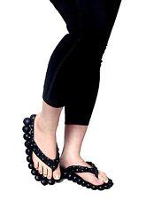 """""""Massage Bubbles"""" Reflexology Flip Flops/Sandals for Women"""