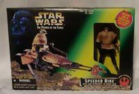 Star Wars Speeder Bike with Exclusive Luke Skywalker in Endor Gear | Kenner 1996