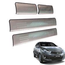 Door Still Scuff plate protection Fit Mitsubishi Mirage sedan Mirage G4 Attrage