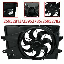 For Chevrolet Equinox GMC Terrain 2.4L AC Radiator Cooling Fan Assembly 2010-17