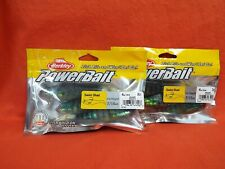 BERKLEY POWERBAIT SWIM SHAD (4IN)(7/16OZ) BLUEGILL (3CT)(2PK'S)#1307660
