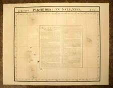 LES ILES MARSHALL carte geographique par VANDERMAELEN 1827 old map antique