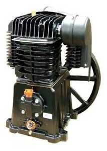 Rolair Pmp22bk119gr Air Compressor Pump,2 Stage,2 Cylinders