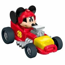 Disney Mickey Mouse die cast vehicle Metal Car Hot Rod Roadster Racers Gift Toy