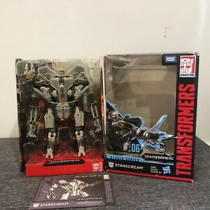 Transformers Studio Series 06 Starscream New (Box Damaged)