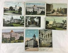 ANTIQUE POSTCARD US WASHINGTON D.C.,CONGRESS,CAPITON,PENNSYLVANIA AVENUE LOT 9