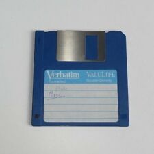 "Verbatim DataLife  MF2-DD Double Density 720KB Floppy Disk 3.5"" - 135 TPI - edc"