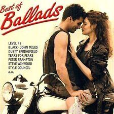 Best of Ballads Wet Wet Wet, Level 42, Tears for Fears, Saga, John MIles.. [CD]