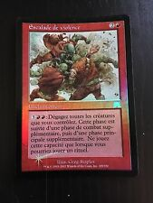 MTG ONSLAUGHT AGGRAVATED ASSAULT(FRENCH ESCALADE DE VIOLENCE) NM FOIL