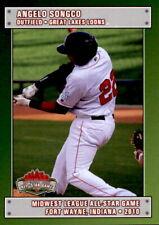 2010 Midwest League All-Stars #27 Angelo Songco Granada Hills California CA Card