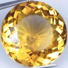 1 Par de 5mm Aspecto Redondo Citrina Dorada Natural Africano Piedras Preciosas