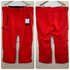 Obermeyer Men's Force Ski Snow Pant Plus Size 2XL Regular in Red $219