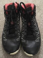 Mens Air Jordon Icons Black Varsity Red & White 393852-001, Size 8