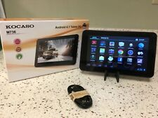 """Kocaso Tablet M736 7"""" Android 4.1 Capacitive Touch Tablet 800x480 Screen, WiFi"""