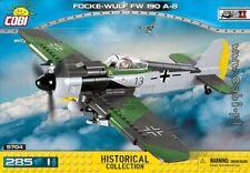 COBI Focke - Wulf Fw190 A 8 / 5704 /285 blocks WWII Small Army German  fighter