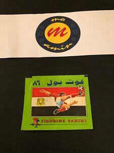 Very Rare panini Egypt football 1986 packet - Original