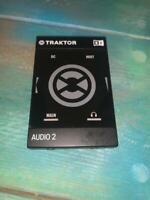 Native Instruments Traktor Audio 2 Mk2 2-channel DJ Audio Interface. Condition i