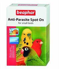 Beaphar antiparasitarios spot on para Pequeños Pájaros 4 semana tratamiento