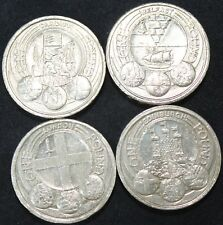 More details for set of elizabeth ii capital cities one pound coins | bulk coins | km coins