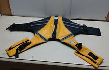 Sierra Dog Supply Pet Animal Safety Preserver Flotation Life Jacket Orange Black