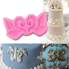European Symmetrical Lace Cake Border Silicone Mold Fondant Cake Decorating RS