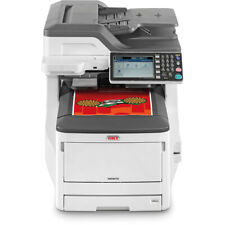 OKI MC873DN A3 A4 Colour Multifunction LED Printer Low Count Under 121k WARRANTY