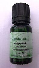Grapefruit (100% Pure) Essential Oil 10ml Citrus Paradisi Fresh New & Sealed
