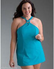 Lane Bryant ring build in bra swimwear dress lined size 42B 38D 40C