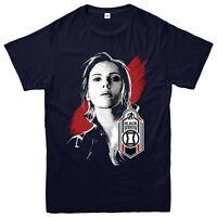 Black Widow T-shirt, 2020 Avengers Badge, Marvel Comics Partywear Gift Top