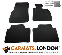 Bmw 3 Series F30 F35 F80 2012 - 2017 Tailored Car Floor Mats Fitted Set in Black