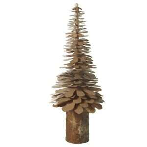 Natural Fiber Christmas Pine Tree