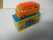 Matchbox Lesney Superfast SF23 Volkswagen Camper- orange, boxed