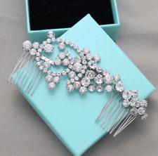 Vintage Style Crystal Wedding Hair Comb Headpiece Accessories