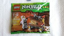 30086 Lego Ninjago White Ninja Zane Hidden Golden Weapon minifigure polybag set
