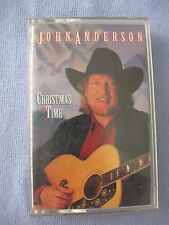 Christmas Time by John Anderson, cassette tape, 1999