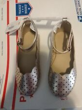 Gymboree nwt toddler girls rose gold dress shoes new size 6