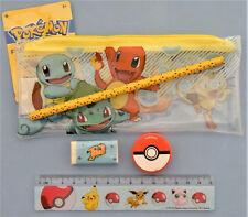 Pokemon Trousse + Set d'écriture Pokemon neuf