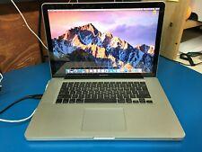 "Apple MacBook Pro 15"" late 2011 A1286 8GB ram 2.4GHz i7 unibody"