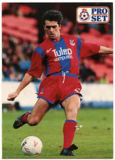 Eddie McGoldrick Crystal Palace #257 Pro Set Football 1991-2 Trade Card (C364)