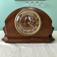 Mid-1940s Seth Thomas electric Art Deco mantel clock - works great!