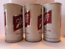 Beer Cans -#4Z-- Steel Schlitz 10 oz. & 2 each 12 oz. (3 cans)