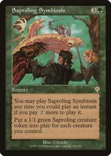 Saproling Symbiosis Invasion NM Green Rare MAGIC THE GATHERING CARD ABUGames