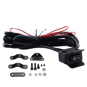 3 Meter ATV UTV Car Winch Rocker Switch Handlebar Control Line for Warn Winch
