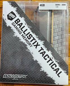 Crucial BLT4G4D30AETA - Ballistix Tactical - DDR4-4 GB - DIMM 288-pin - 3000 MHz