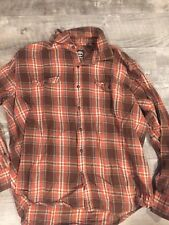 Timberland Flannel Shirt Mens XL In EUC