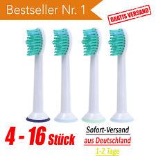 ▀▀ 4 8 12 16 Stück Ersatzbürsten passend für Philips Sonicare Aufsteckbürsten ▀▀