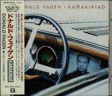 Kamakiriad + DJ Booklet Donald Fagen CD album (CDLP) Japanese promo WPCP-5210