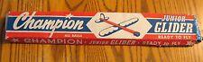 VINTAGE Champion Junior Glider BROOKLYN, NJ  Complete Kit
